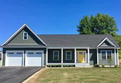 Somersworth Single Family Home Active Under Contract: Lot 66 Sunningdale Drive #66
