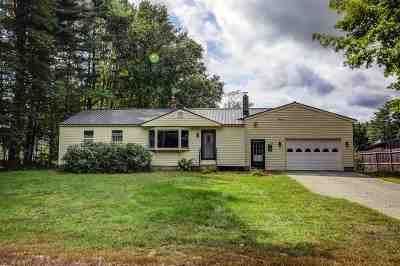 Hopkinton Single Family Home Active Under Contract: 214 Maple Street