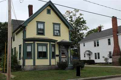 Manchester Single Family Home For Sale: 325 Young Street Street