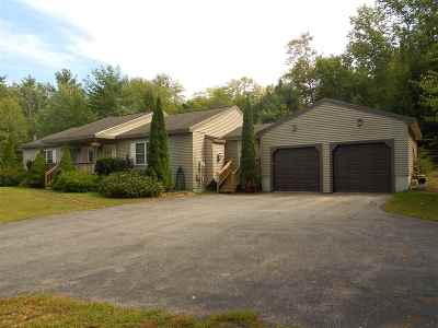 Belknap County Single Family Home For Sale: 587 Suncook Valley Road