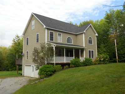 Belknap County Single Family Home For Sale: 186 Hamwoods Road