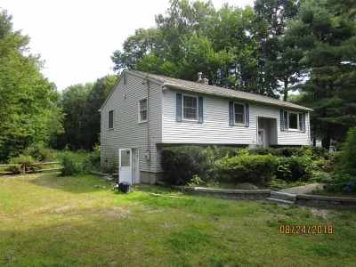 Belknap County, Carroll County, Cheshire County, Coos County, Grafton County, Hillsborough County, Merrimack County, Rockingham County, Strafford County, Sullivan County Single Family Home For Sale: 38 Sun Valley Road