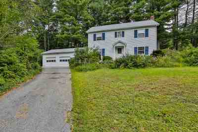 Nashua NH Single Family Home For Sale: $379,000