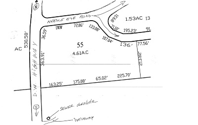 Meredith Residential Lots & Land For Sale: Needle Eye Road