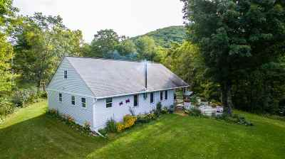 Poultney Single Family Home For Sale: 2500 Morse Hollow Road