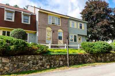 Merrimack Condo/Townhouse For Sale: 73 Sentry Way