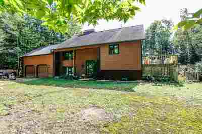 Epsom Single Family Home Active Under Contract: 168 Chestnut Pond Road
