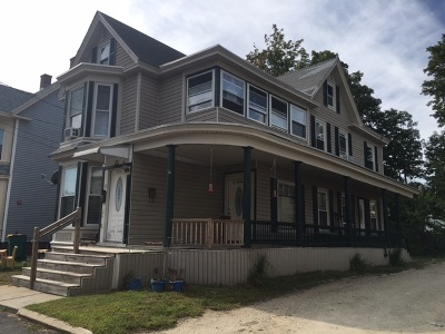 Strafford County Multi Family Home For Sale: 11-15 Myrtle & Woodman Street