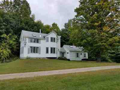 Wentworth Single Family Home For Sale: 38 Pond Brook Road Road