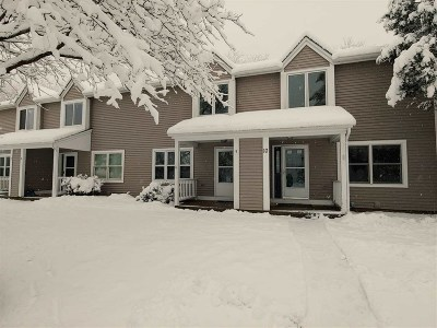 Chittenden County Condo/Townhouse For Sale: 115 West Country Club Drive #9