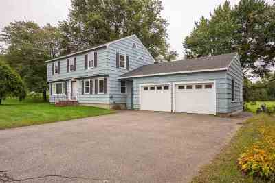 Somersworth Single Family Home Active Under Contract: 4 Cemetery Road