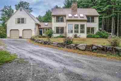 Francestown Single Family Home Active Under Contract: 1163 New Boston Road