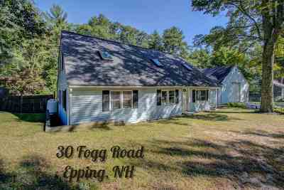 Epping Single Family Home For Sale: 30 Fogg Road