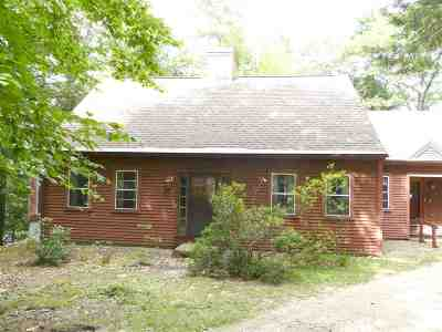 Carroll County Single Family Home For Sale: 421 Squam Lake Road