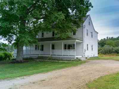Strafford Single Family Home For Sale: 695 Second Crown Point Road