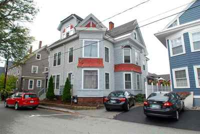 Concord Multi Family Home Active Under Contract: 6 Blake Street