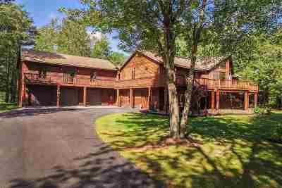 Castleton Single Family Home For Sale: 176 Johnson Spooner Road