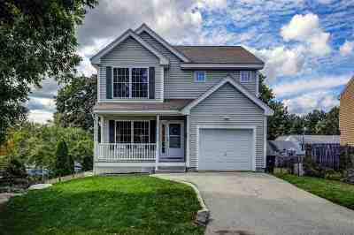 Nashua Single Family Home Active Under Contract: 100 Beauview Avenue