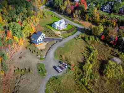 Stowe Single Family Home For Sale: 95 Francis Lane #Lot 4