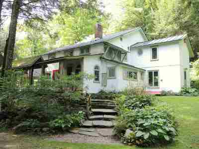 Chittenden Single Family Home For Sale: 2839 Furnace Brook Road