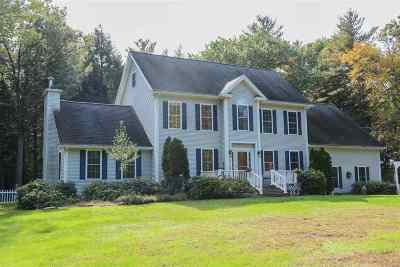 Single Family Home For Sale: 10 Oxbow Farm Road