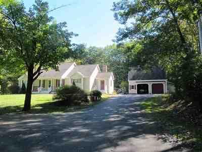 Rochester Single Family Home For Sale: 116 Hansonville Road