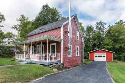 Stowe Single Family Home Active Under Contract: 58 Pleasant Street