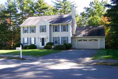 Merrimack Single Family Home For Sale: 3 Ellie Drive