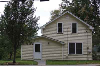 Chittenden County Single Family Home For Sale: 57 Vt Route 15 Route