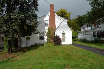South Burlington Single Family Home Active Under Contract: 30 Proctor Avenue