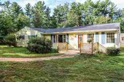 Merrimack Single Family Home Active Under Contract: 28 Pearson Road
