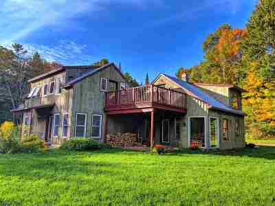 East Montpelier Single Family Home Active Under Contract: 663 Guyette Road
