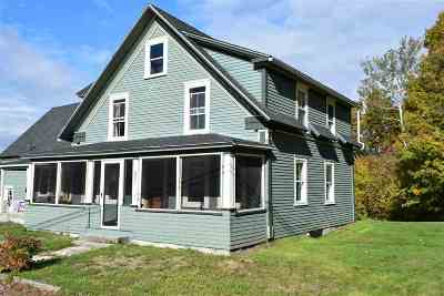 Carroll Single Family Home For Sale: 321 Route 115 Highway