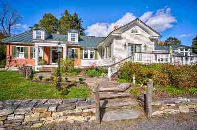 Woodstock Single Family Home Active Under Contract: 5021 South Road
