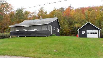Ripton VT Single Family Home For Sale: $98,500