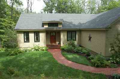 Merrimack County Single Family Home For Sale: 104 Whitney Brook Road