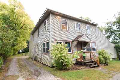 Chittenden County Multi Family Home For Sale: 41 Gorge Road
