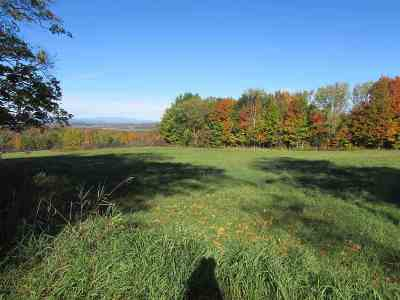 Addison County Residential Lots & Land For Sale: Murray Road #Lot # 1