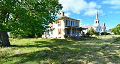 Addison County Single Family Home For Sale: 5018 Route 22a