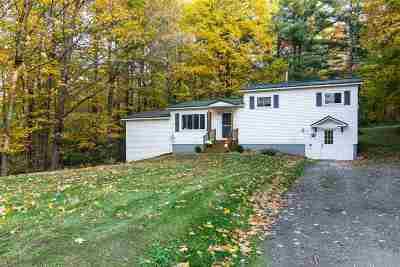 Chittenden County Single Family Home For Sale: 131 Sherwood Forest Road