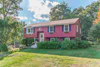 Derry Single Family Home For Sale: 3 Settlers Lane