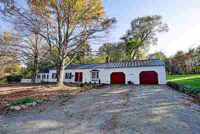 New Boston Single Family Home For Sale: 214 Bedford Road