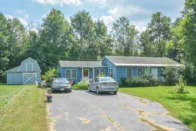 Dover Single Family Home For Sale: 94 County Farm Cross Road