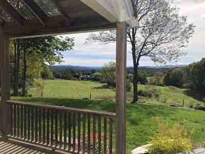 East Montpelier Single Family Home For Sale: 375 Old Trail Road