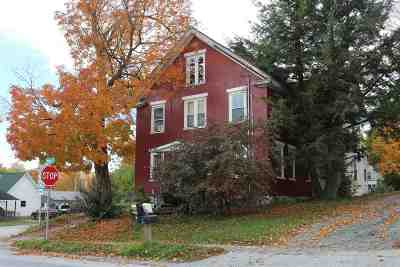 Enosburg VT Single Family Home For Sale: $186,000