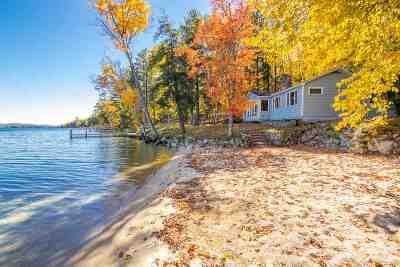 Moultonborough Single Family Home For Sale: 67 Leeward Shores Road
