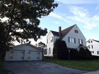 Rutland City VT Single Family Home For Sale: $172,000