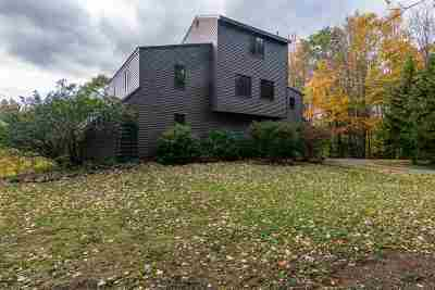 Chittenden County Single Family Home For Sale: 70 Maple Ridge Road