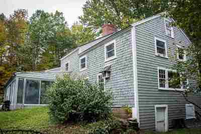 Campton Single Family Home For Sale: 128 Town Pound Road
