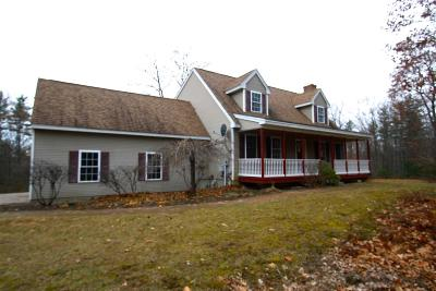 Belknap County, Carroll County, Cheshire County, Coos County, Grafton County, Hillsborough County, Merrimack County, Rockingham County, Strafford County, Sullivan County Single Family Home For Sale: 301 Shaw Road